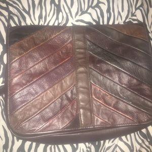 La Covina layered leather bag